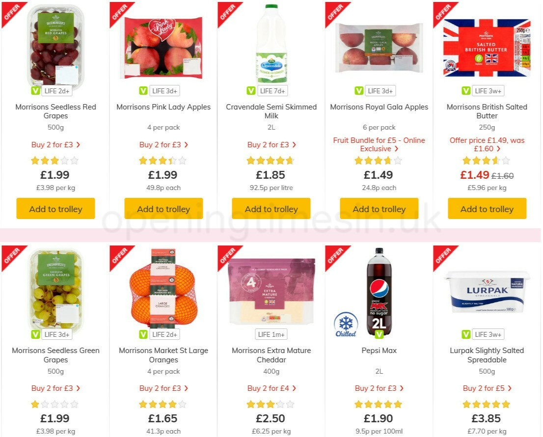 Morrisons Offers from February 23