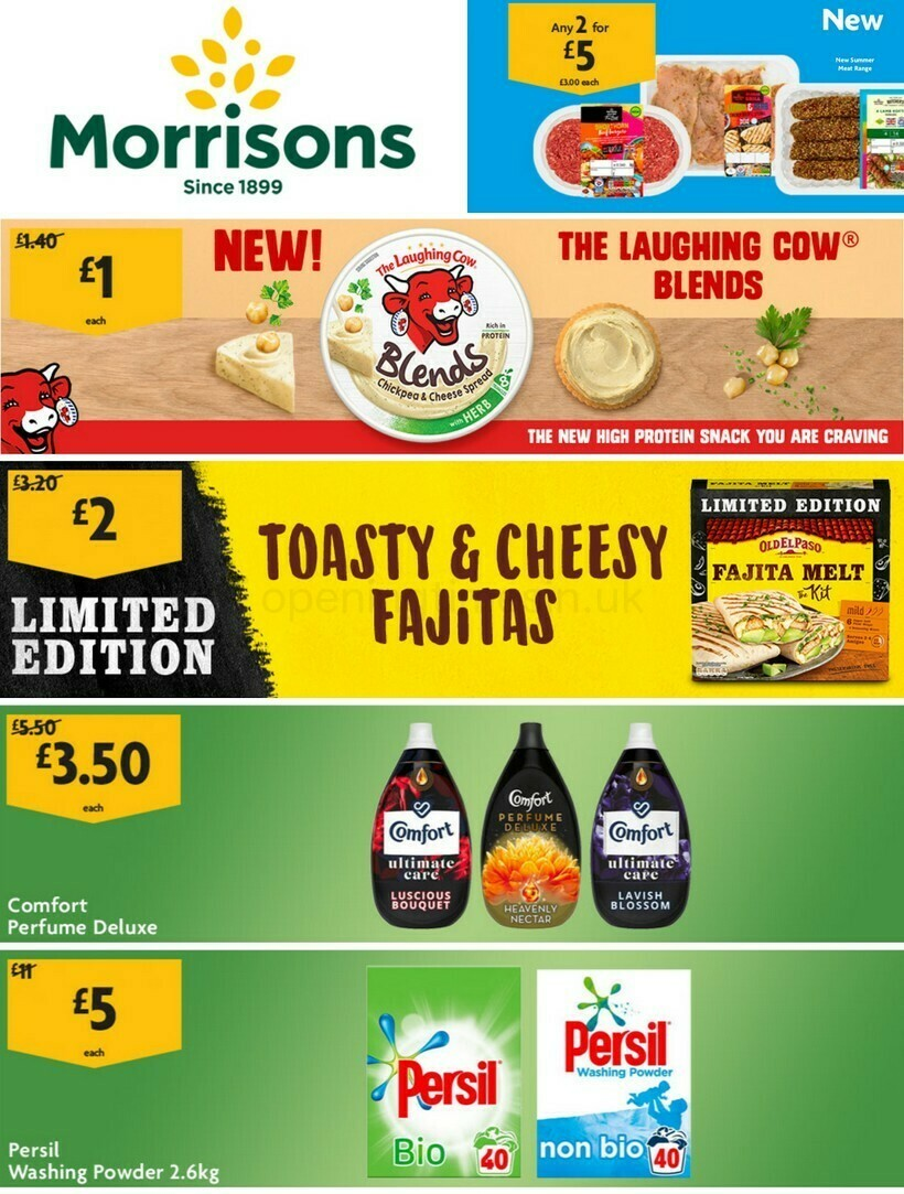 Morrisons Offers from April 6