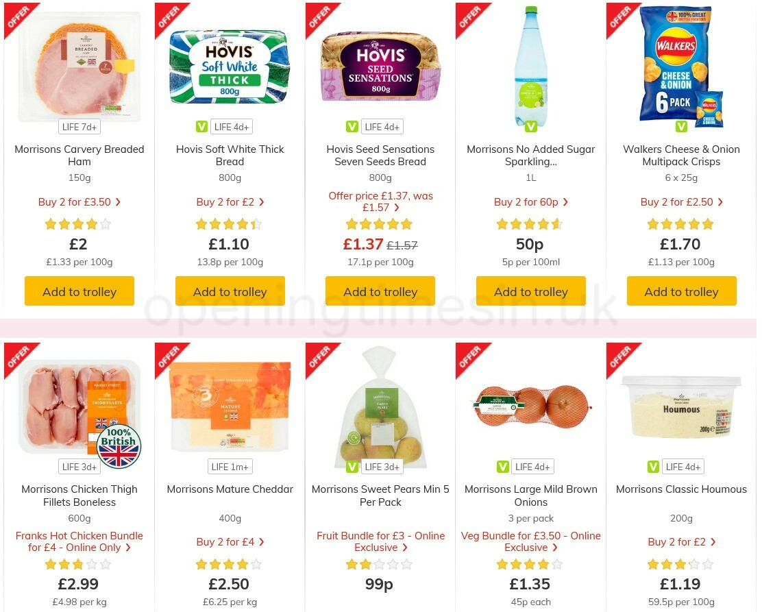 Morrisons Offers from May 4