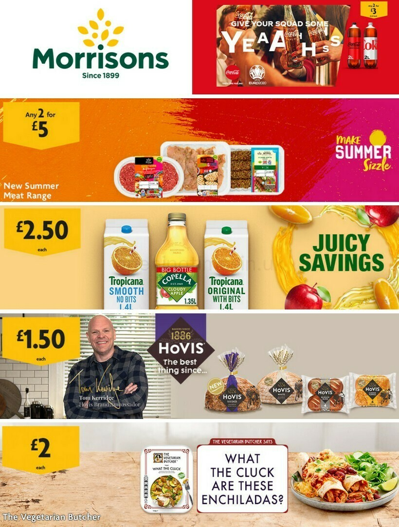Morrisons Offers from June 8