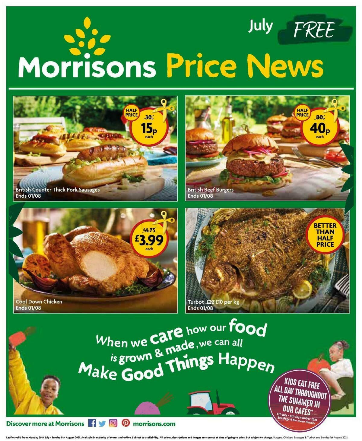 Morrisons Price News Offers from July 26