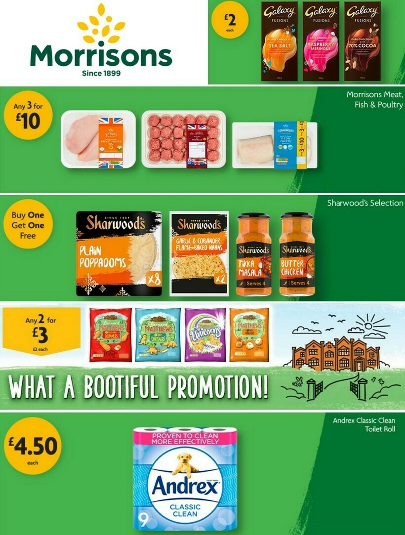 Morrisons Offers from October 12