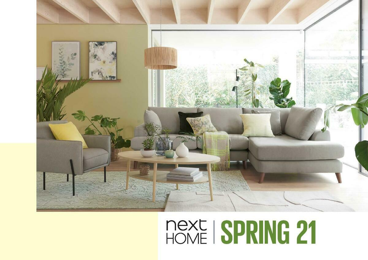 Next Home Spring 2021 Offers from January 8