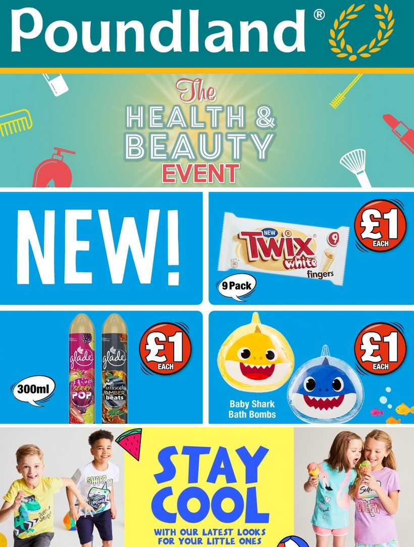 Poundland Offers from July 2