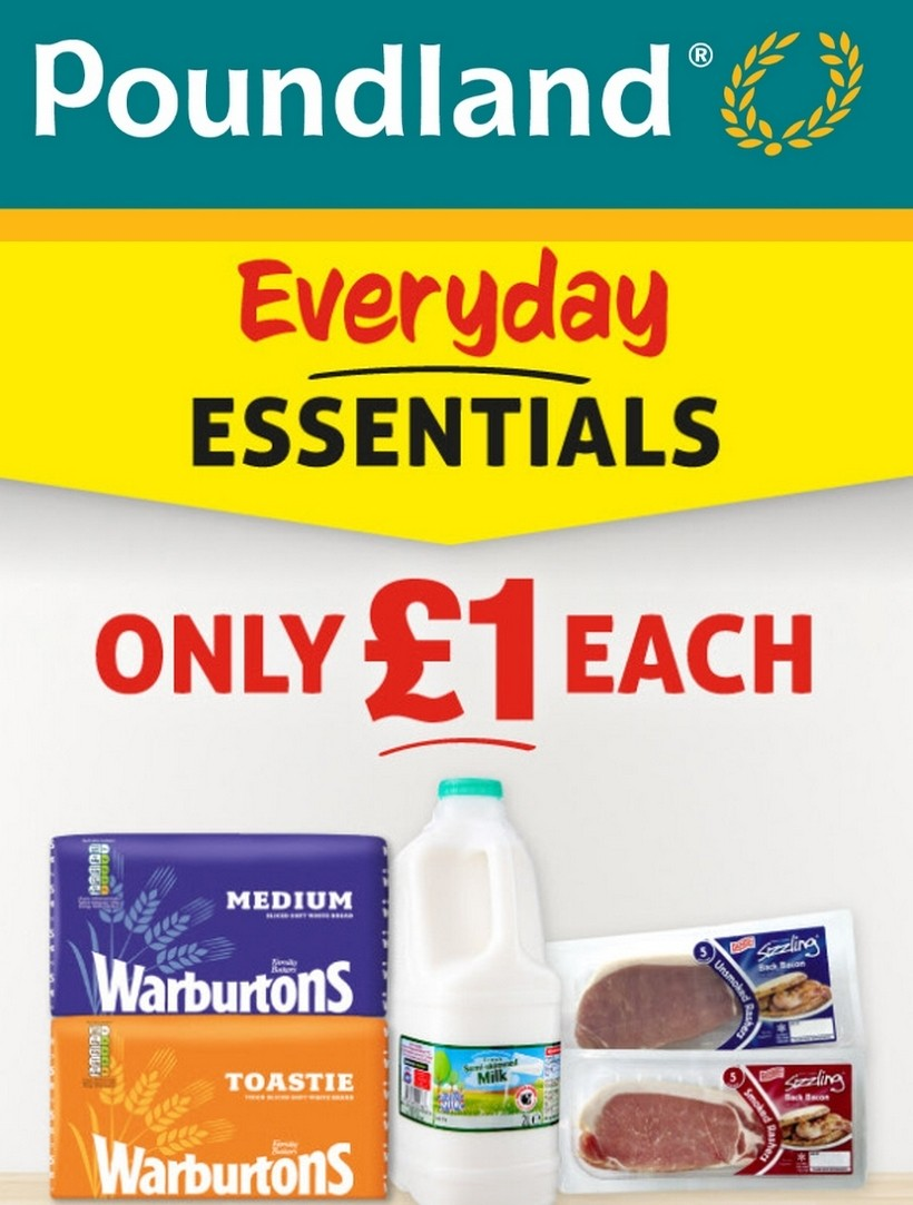 Poundland Offers from March 24
