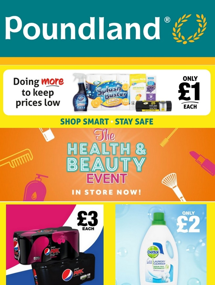 Poundland Offers from June 23
