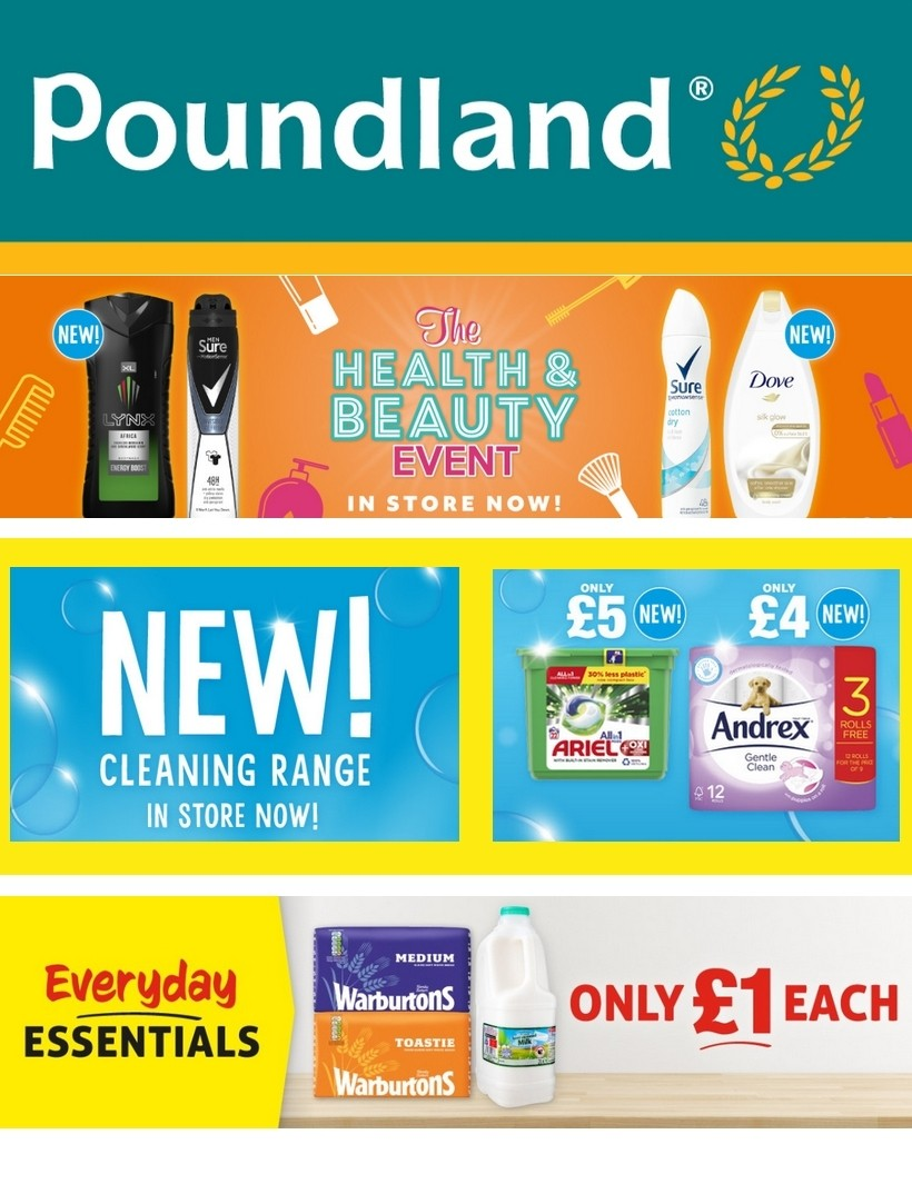 Poundland Offers from July 7