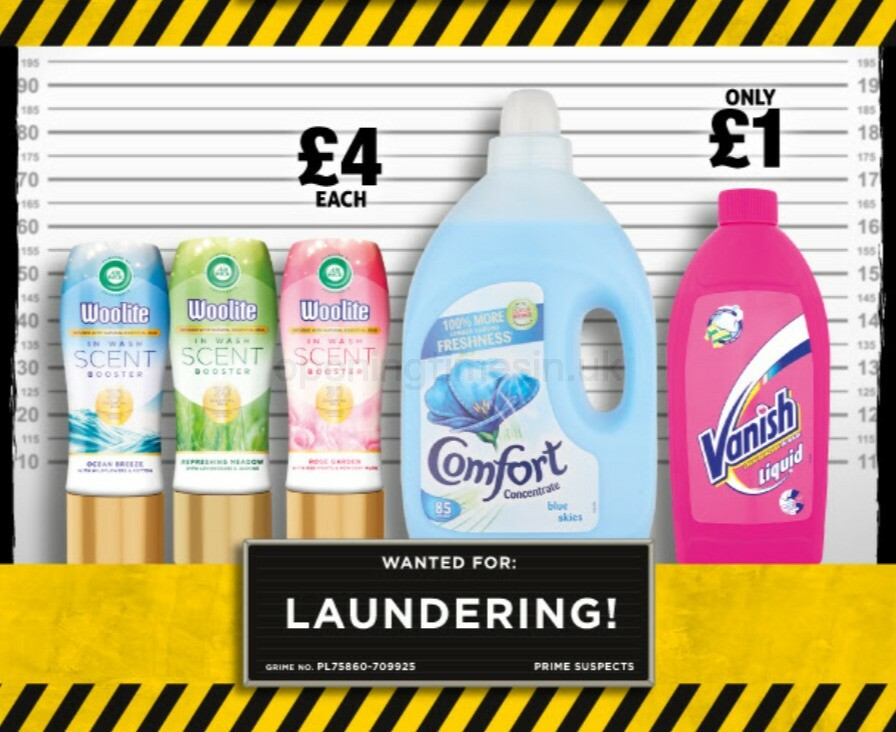 Poundland Clean Up. Stop Grime! Offers from October 1