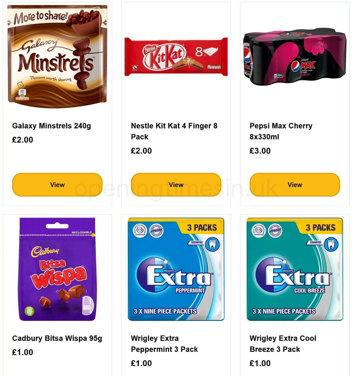 Poundland Offers from January 1