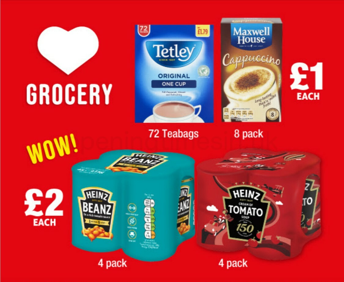 Poundland Offers from January 31
