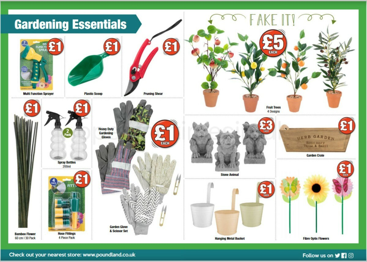 Poundland Offers from April 5