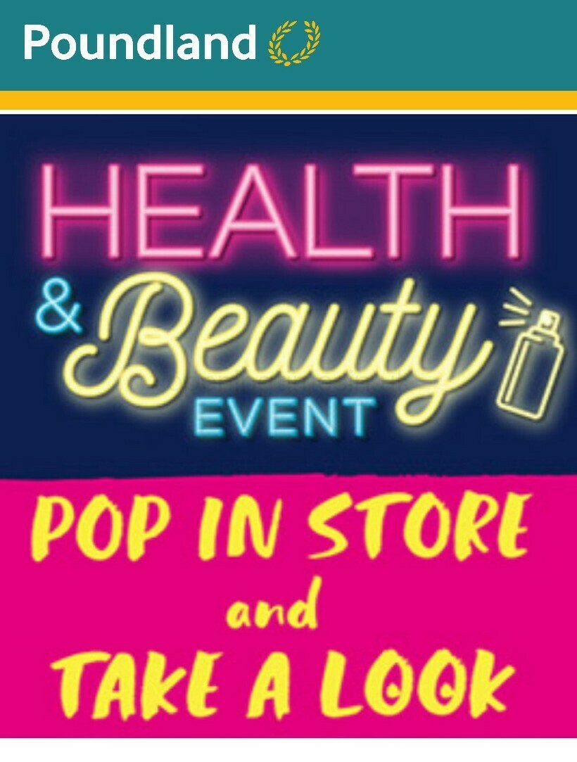 Poundland Health & Beauty Offers from April 10