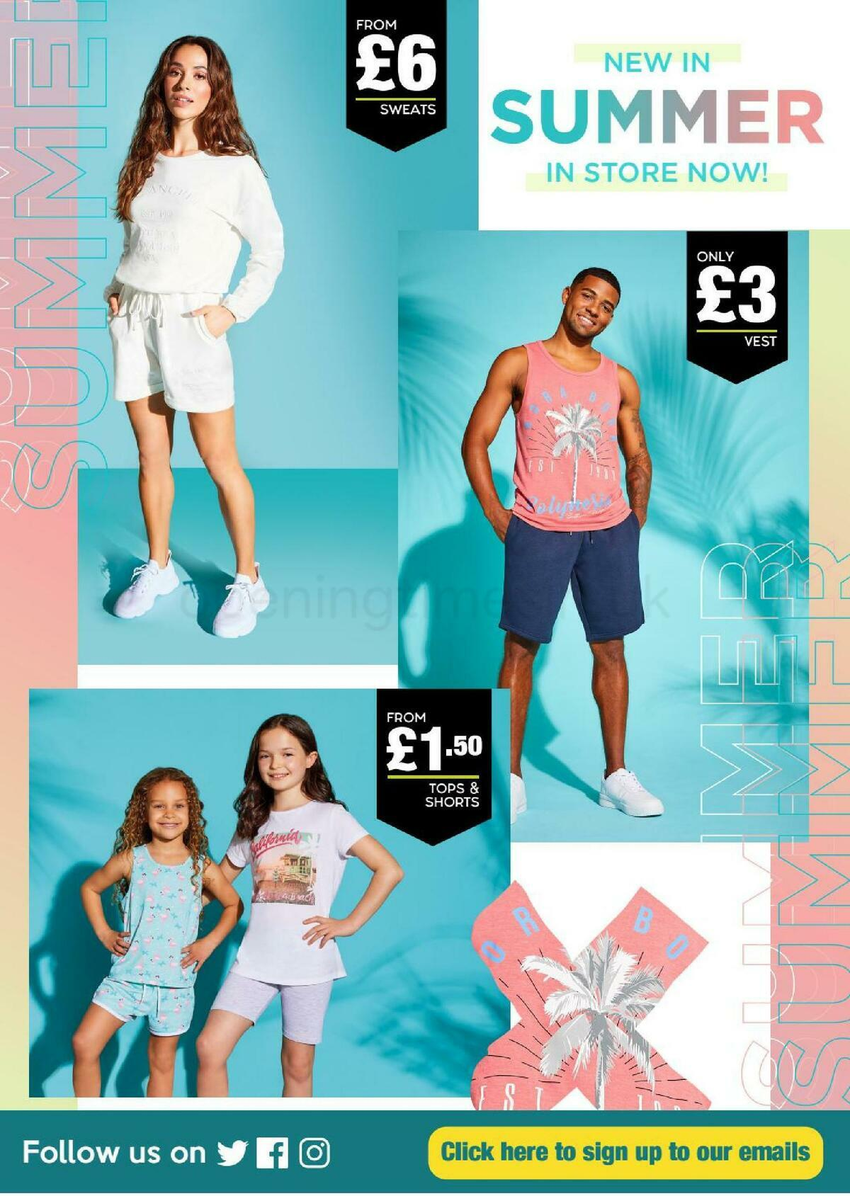 Poundland Offers from June 15