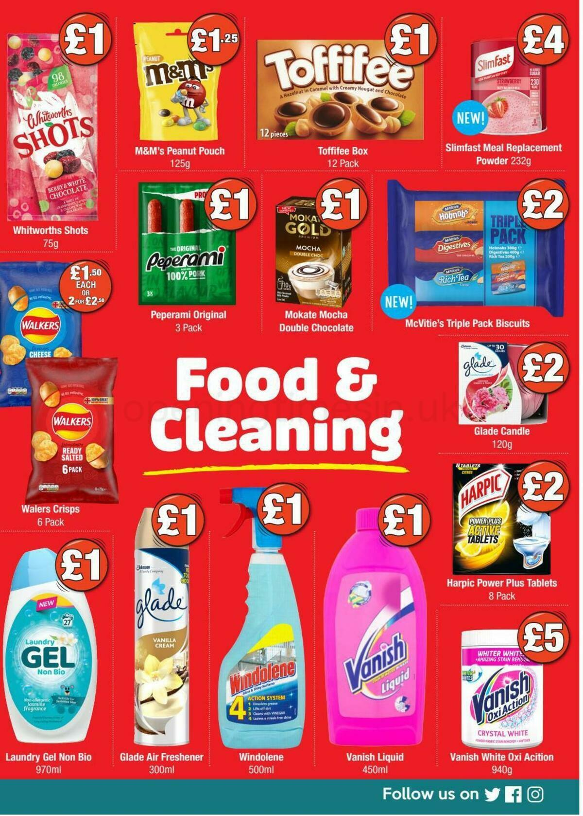 Poundland Offers from October 5