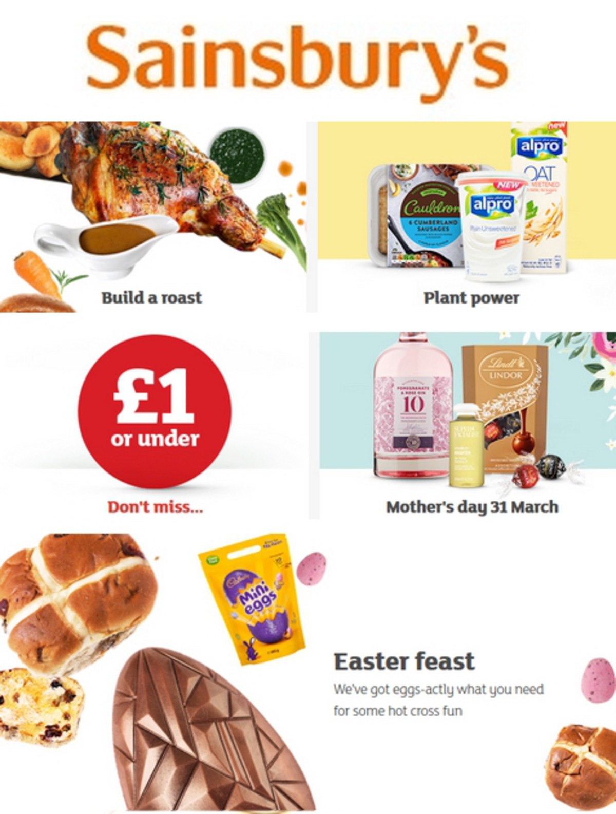 Sainsbury's Offers from March 22