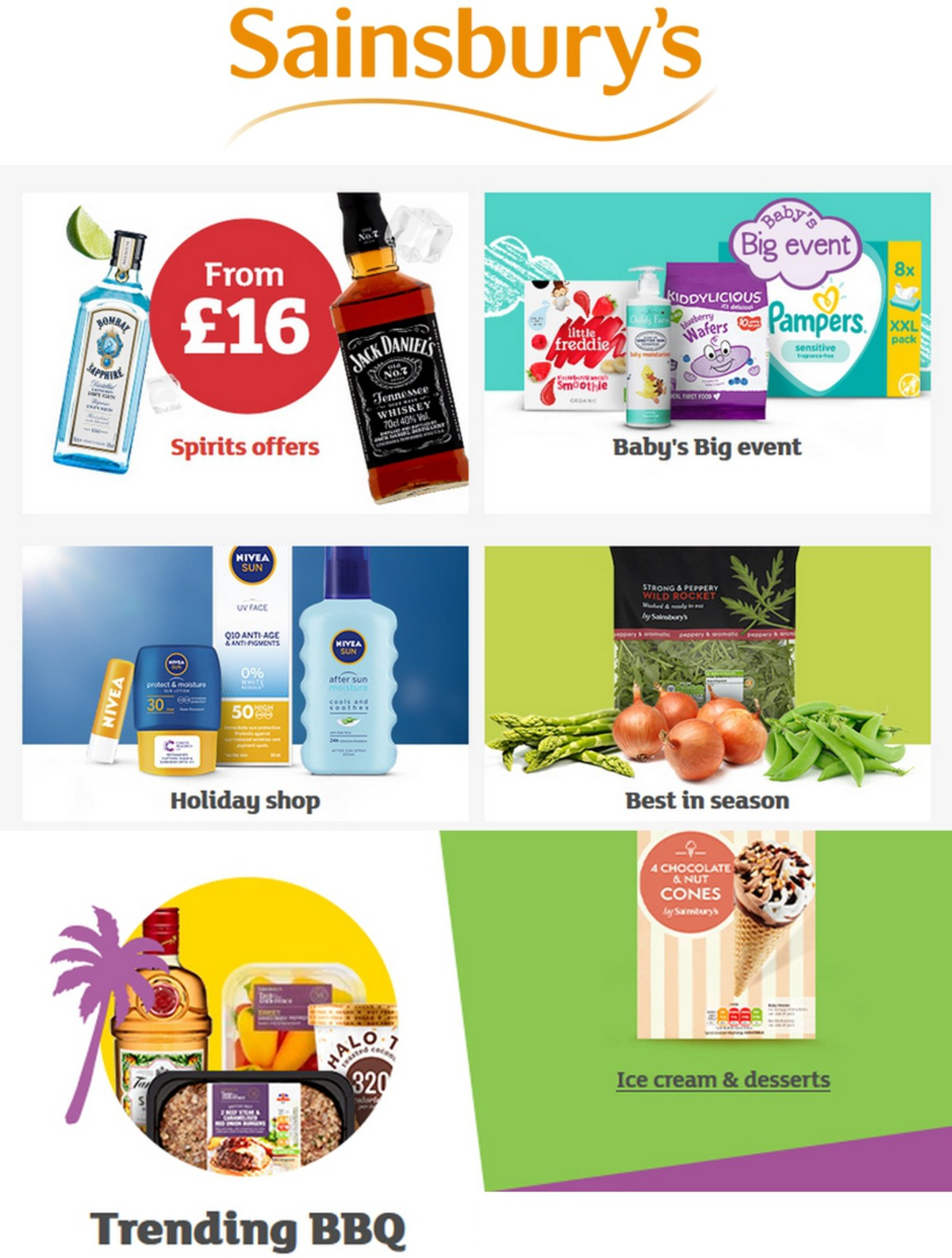 Sainsbury's Offers from May 3