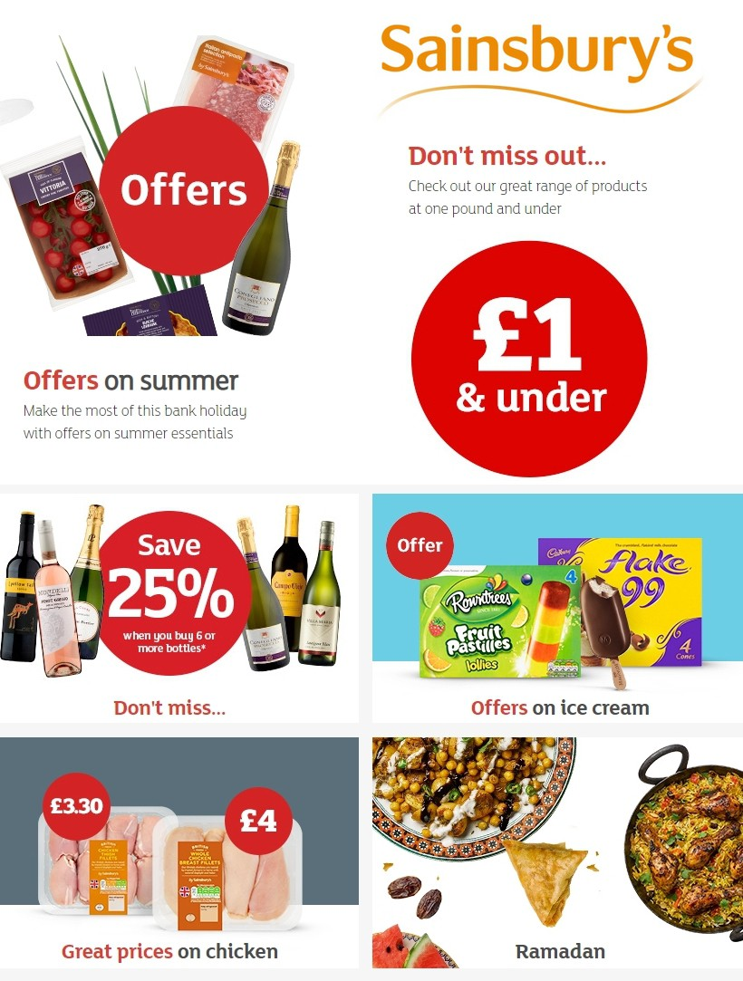 Sainsbury's Offers from May 24