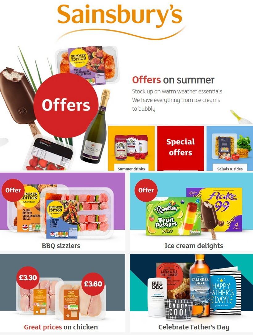 Sainsbury's Offers from June 7