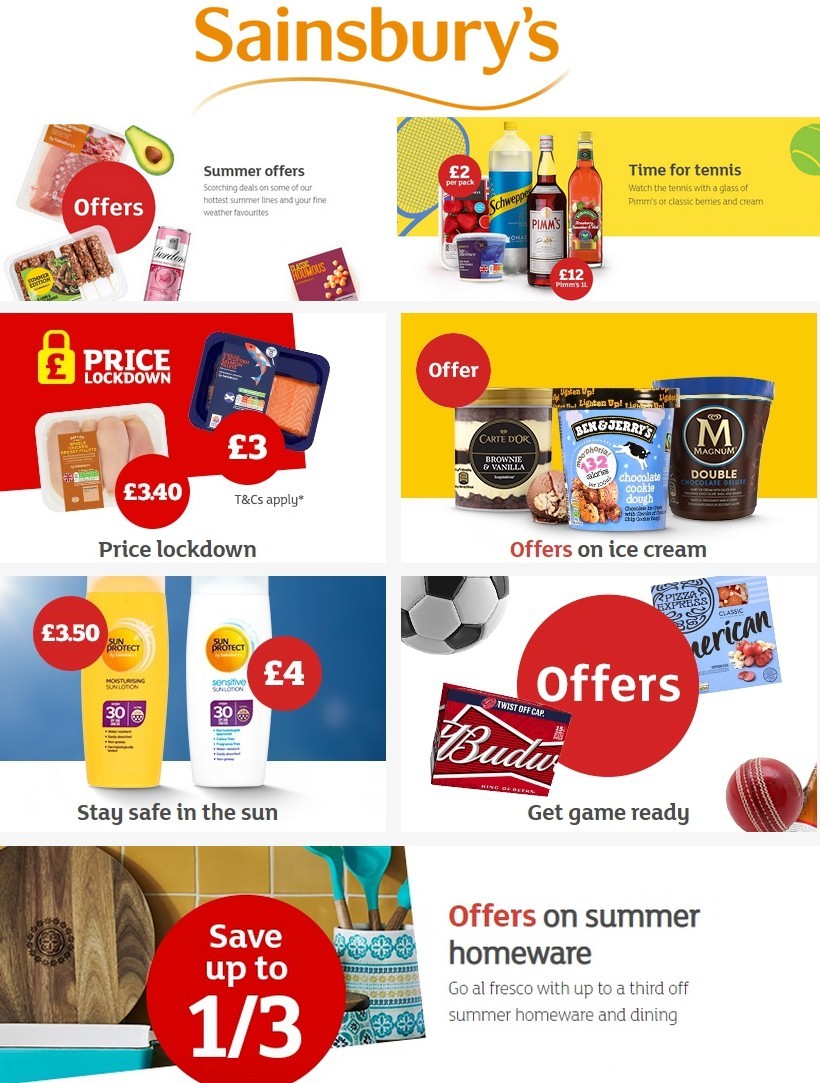 Sainsbury's Offers from July 5