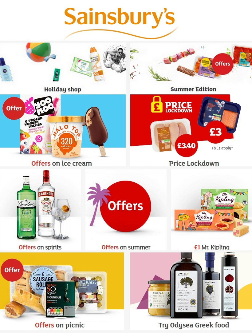 Sainsbury's Offers from August 16