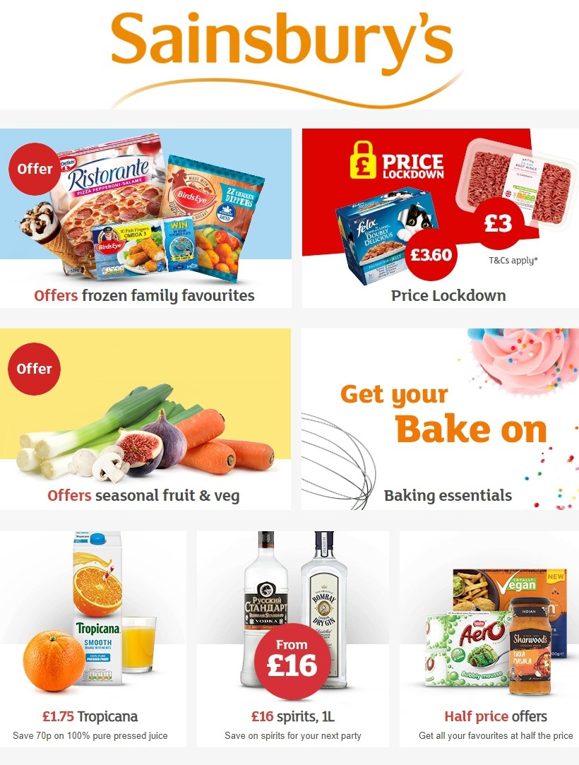 Sainsbury's Offers from September 20