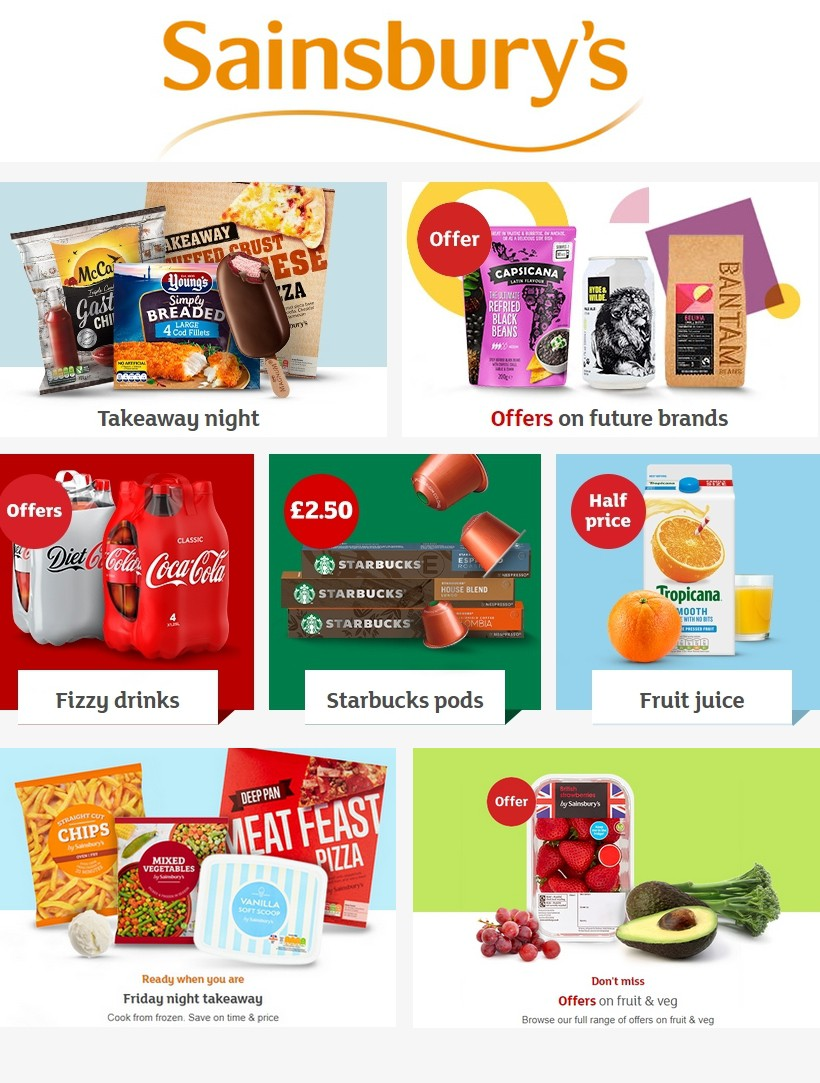 Sainsbury's Offers from February 21