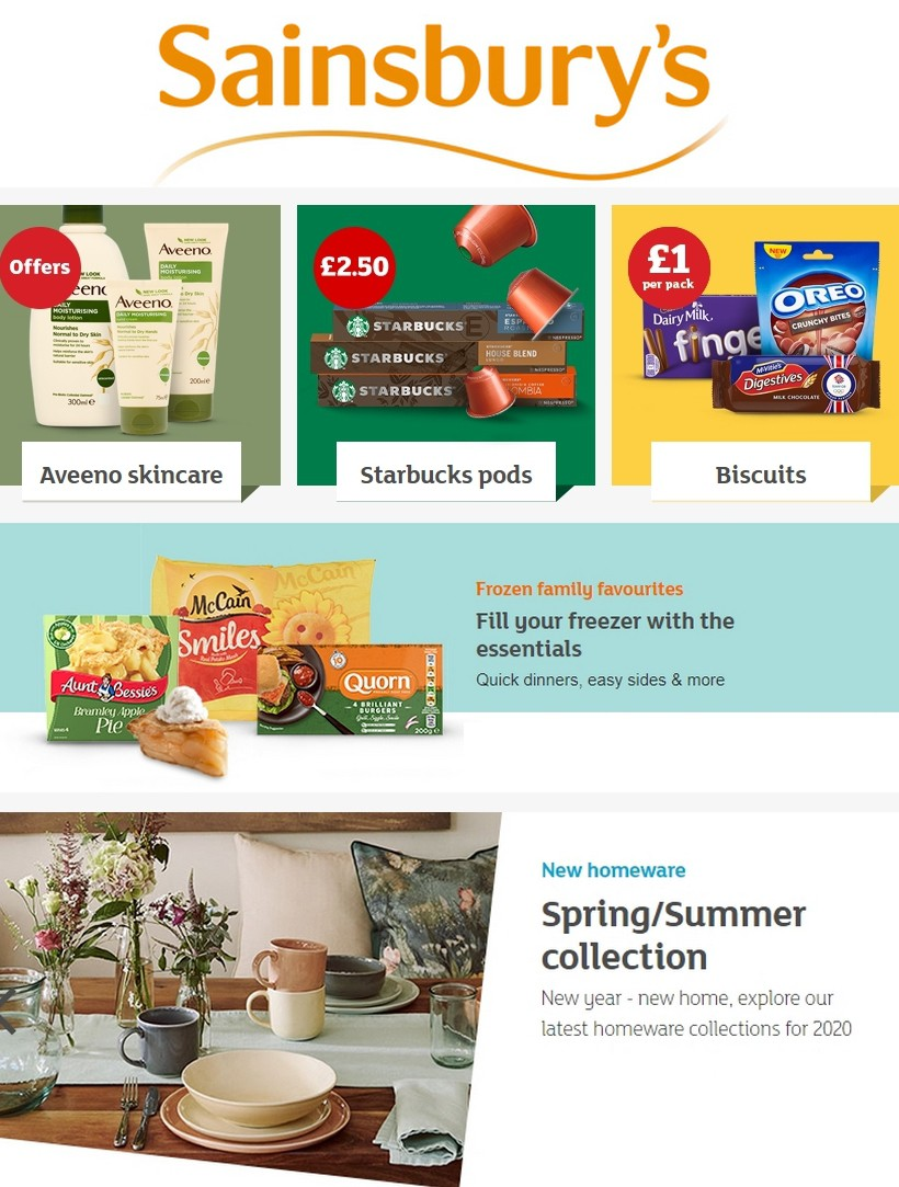Sainsbury's Offers from February 28