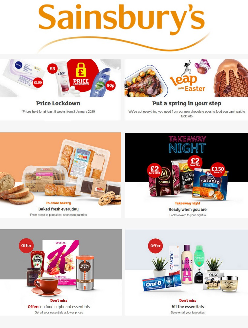 Sainsbury's Offers from March 20