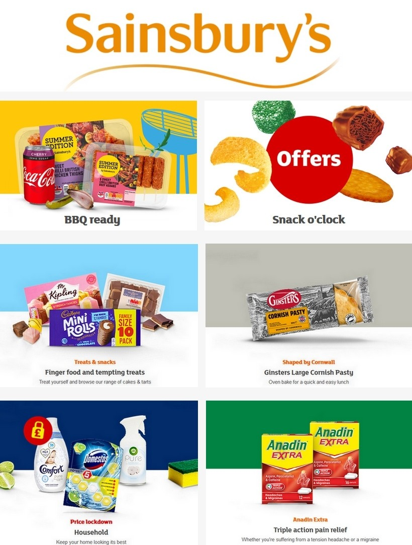 Sainsbury's Offers from May 22