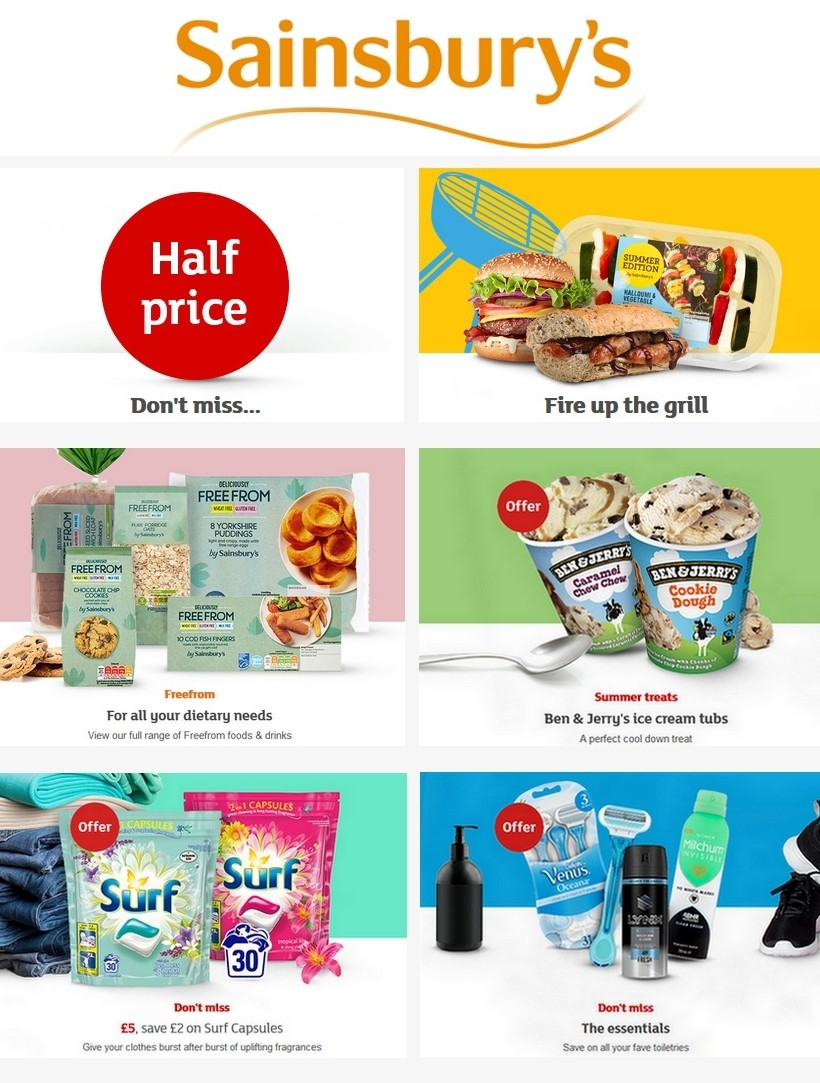Sainsbury's Offers from May 29