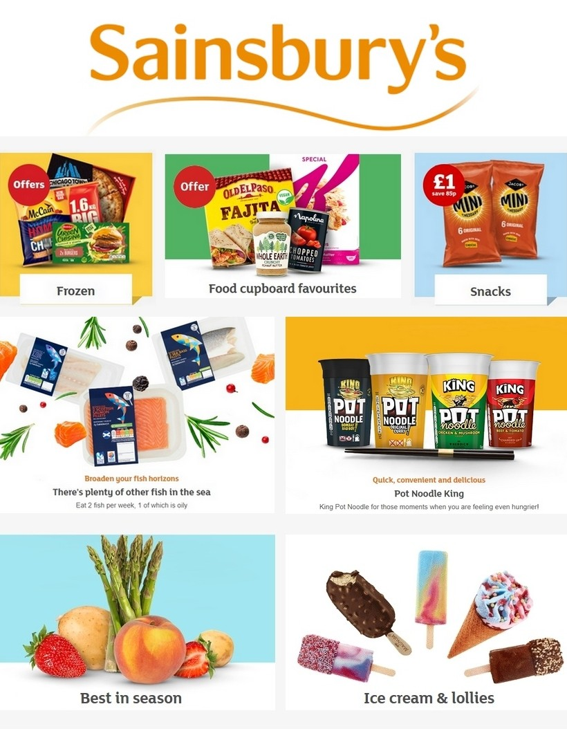 Sainsbury's Offers from June 5