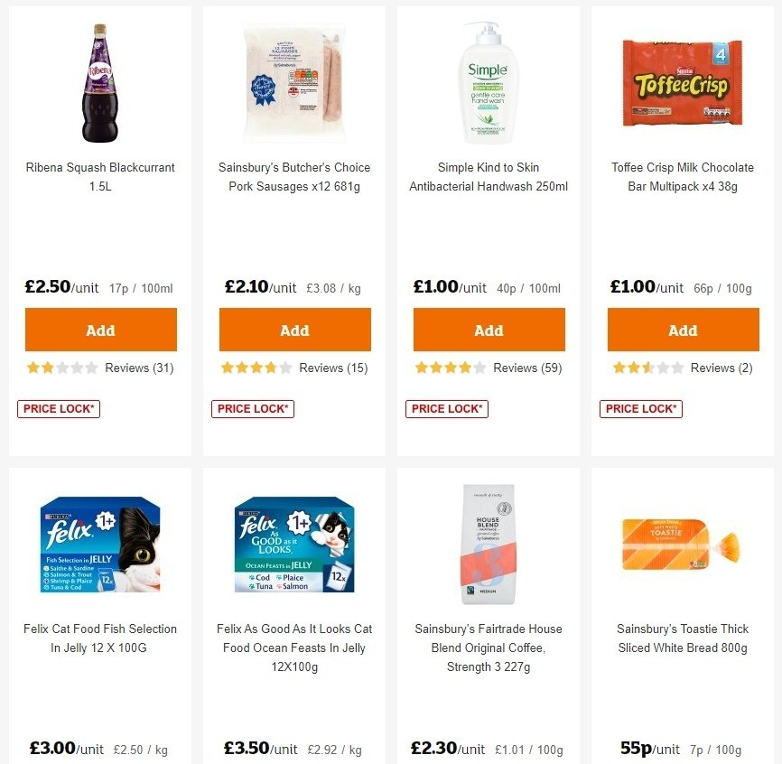 Sainsbury's Offers from June 26