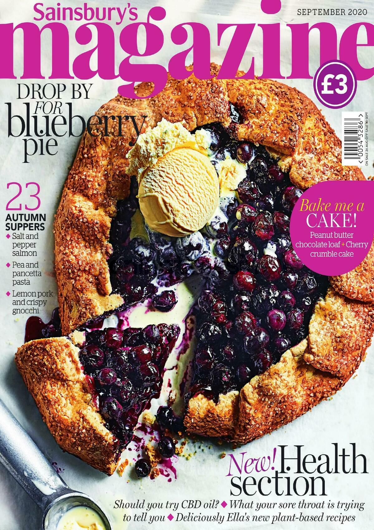 Sainsbury's Magazine September Offers from September 1