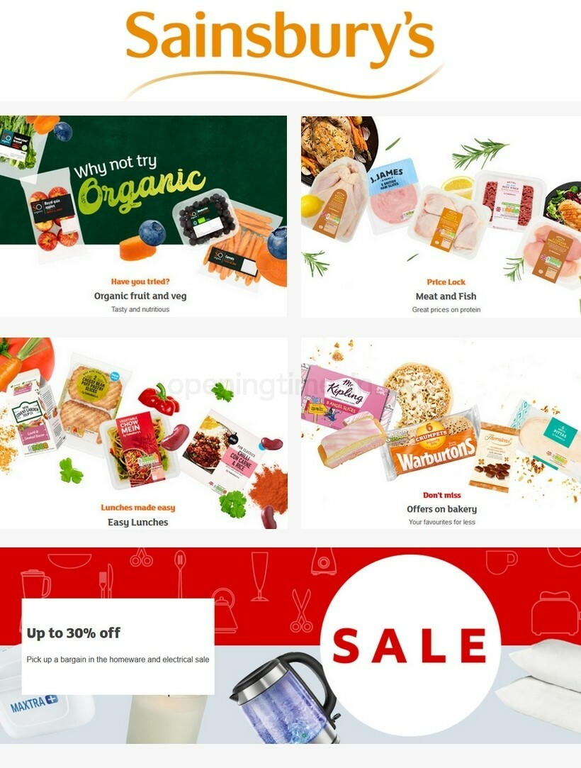 Sainsbury's Offers from September 11