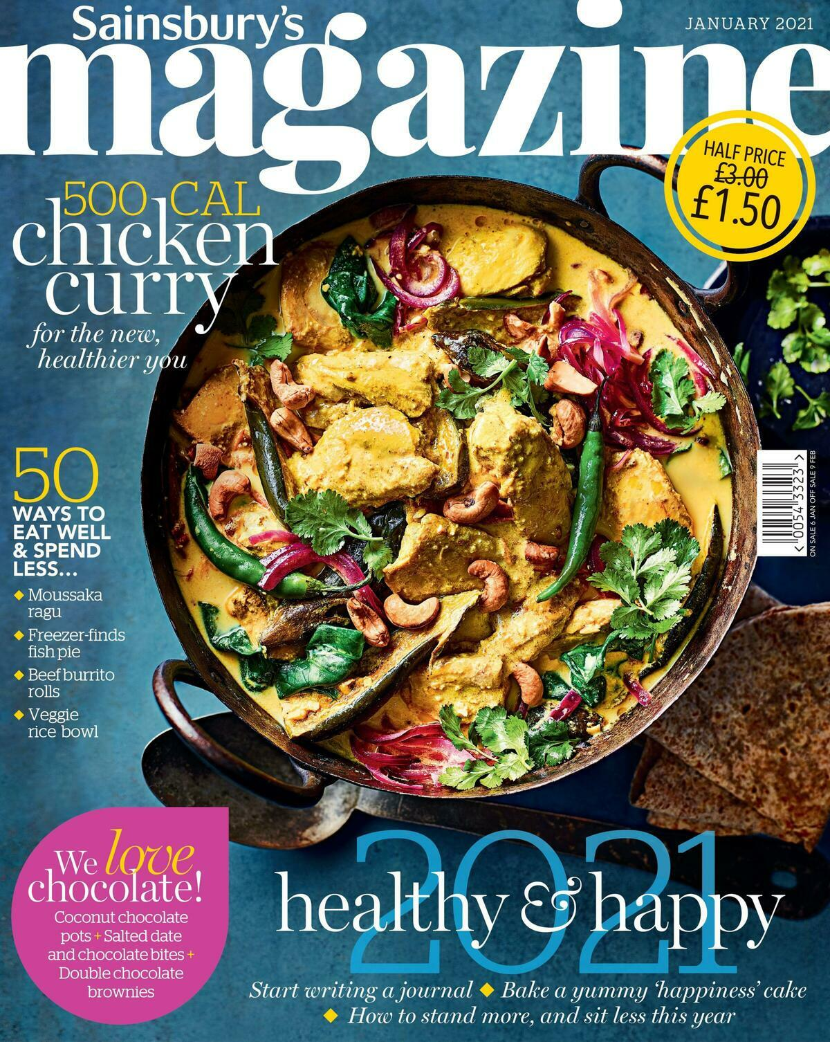 Sainsbury's Magazine January Offers from January 6
