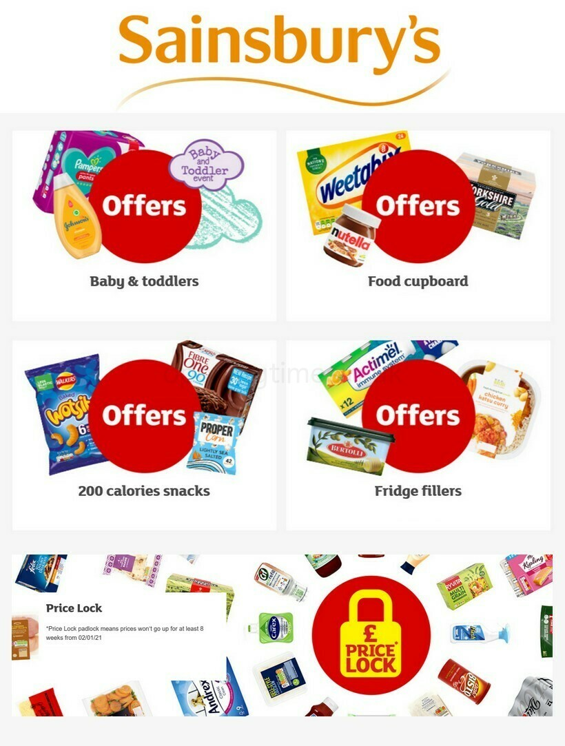Sainsbury's Offers from January 21