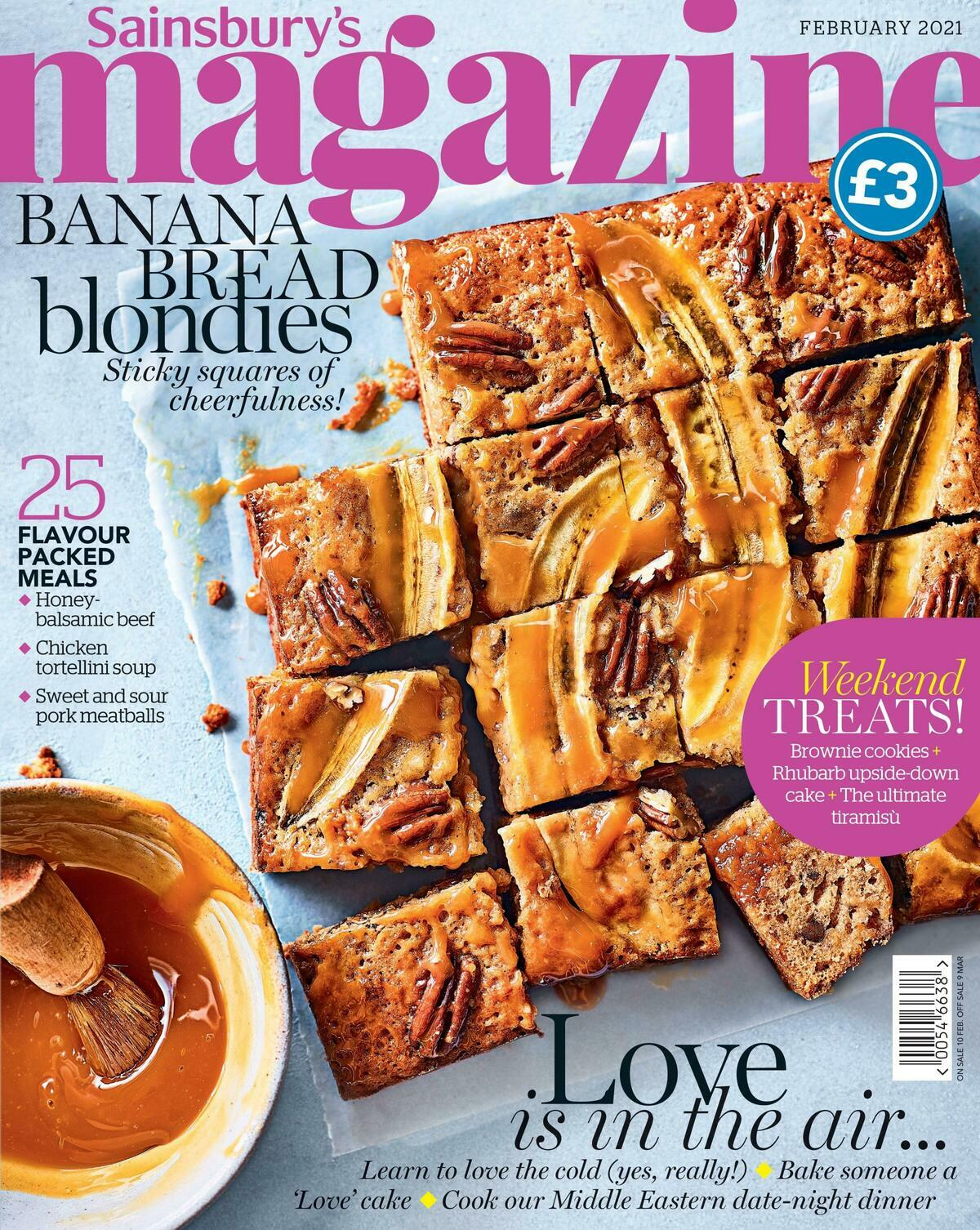Sainsbury's Magazine February Offers from February 1