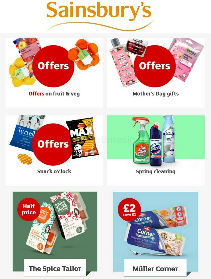 Sainsbury's Offers from February 26