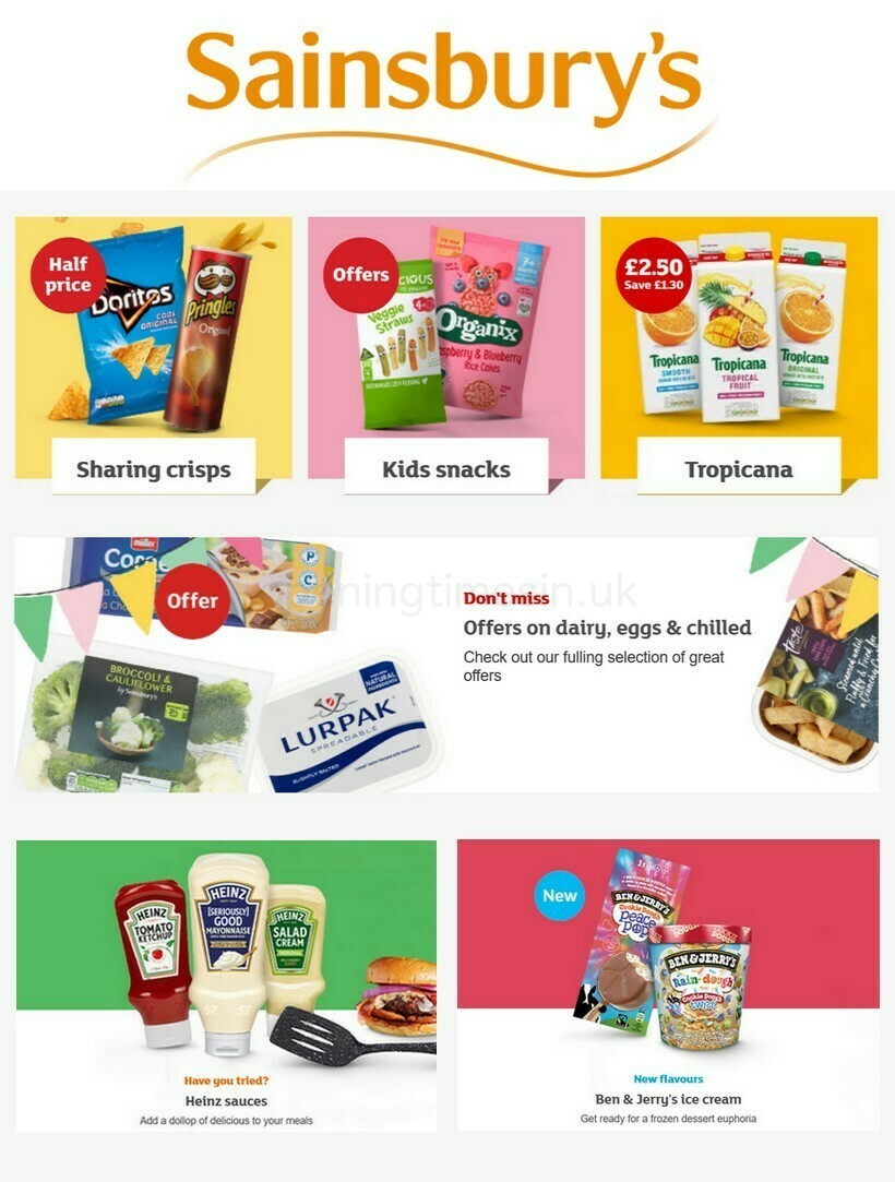 Sainsbury's Offers from April 2