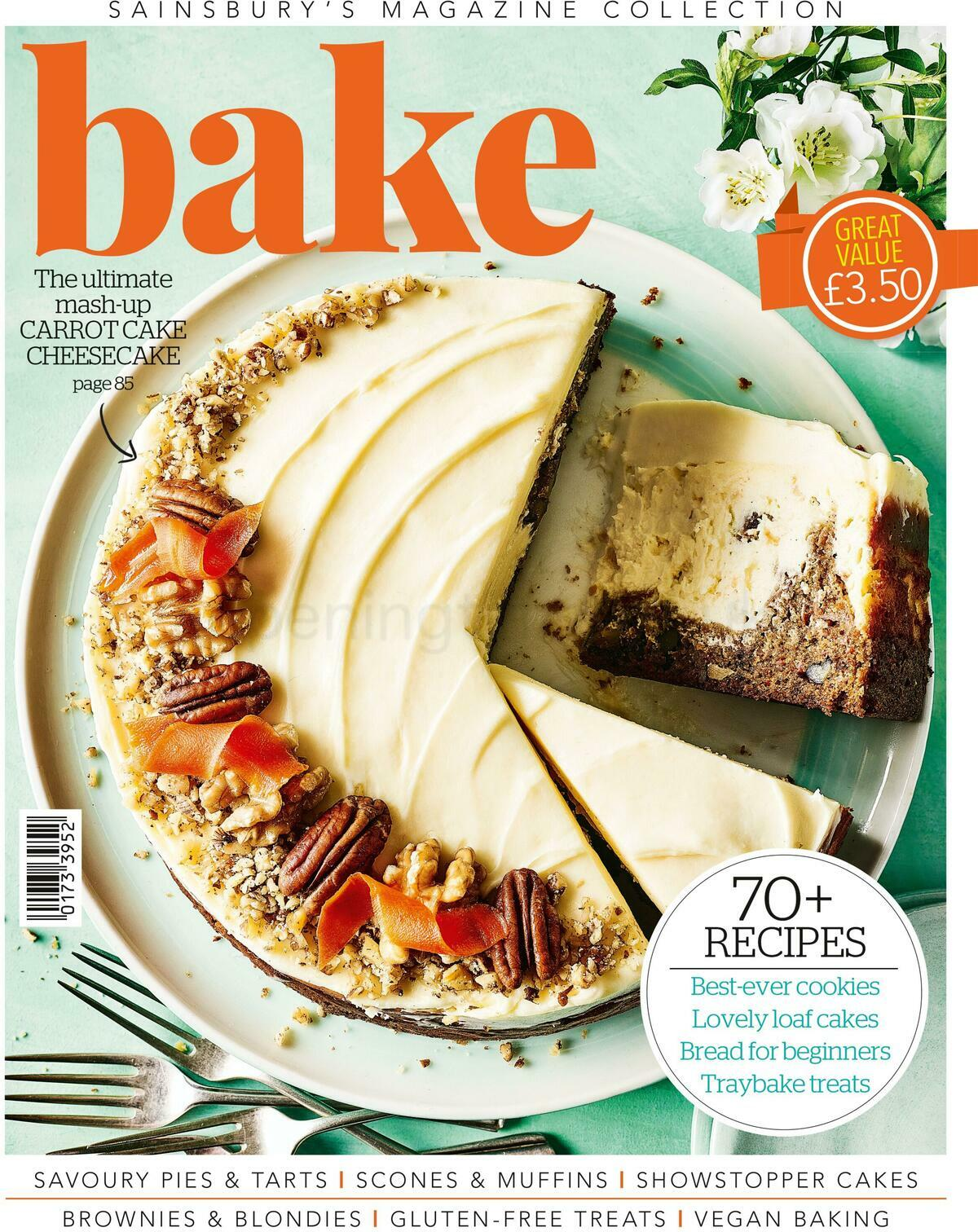 Sainsbury's Let's Bake Magazine Offers from March 18