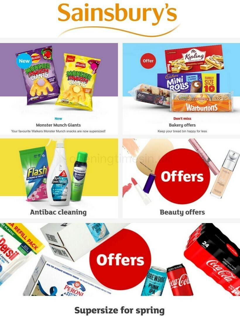 Sainsbury's Offers from April 9