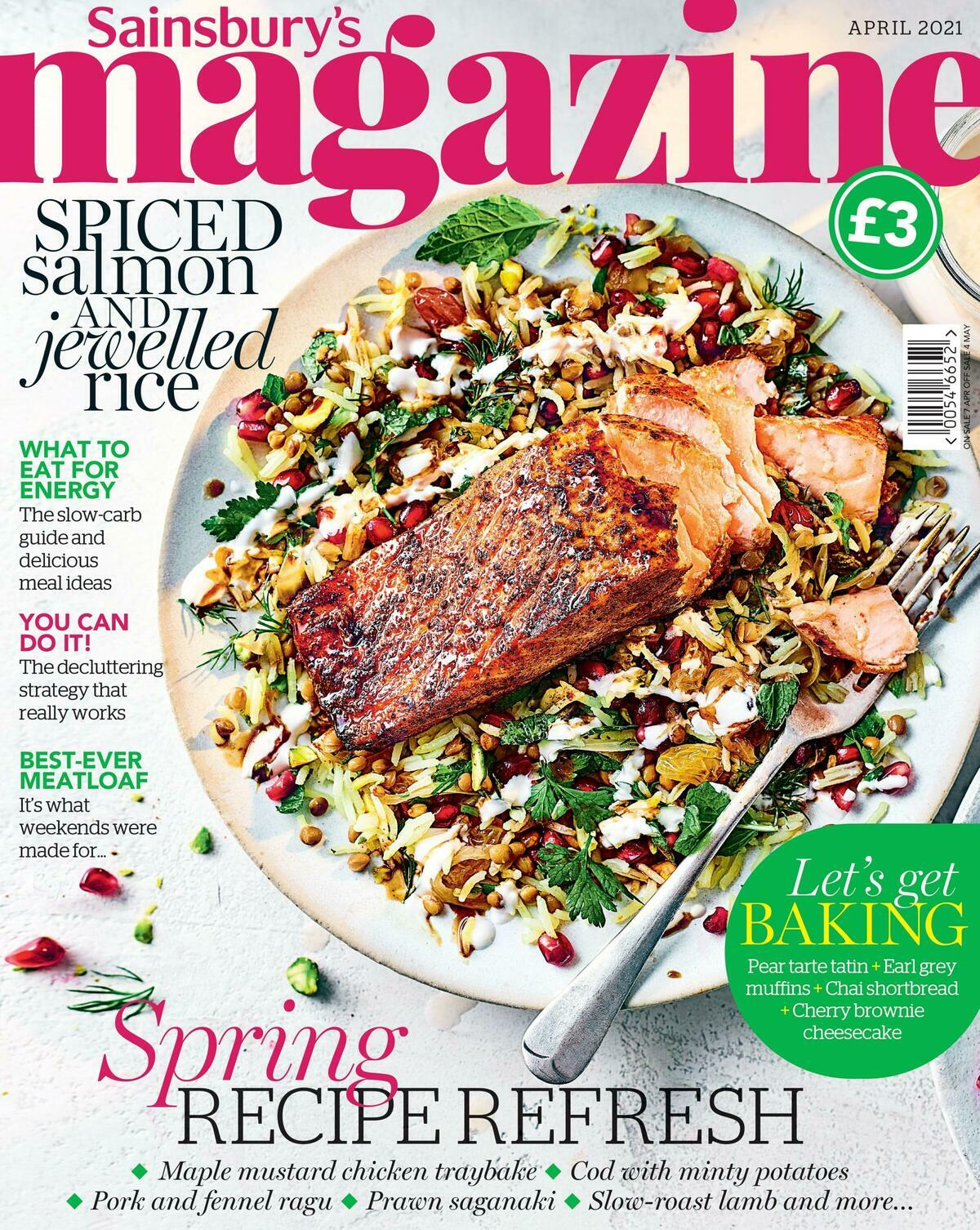 Sainsbury's Magazine April Offers from April 1