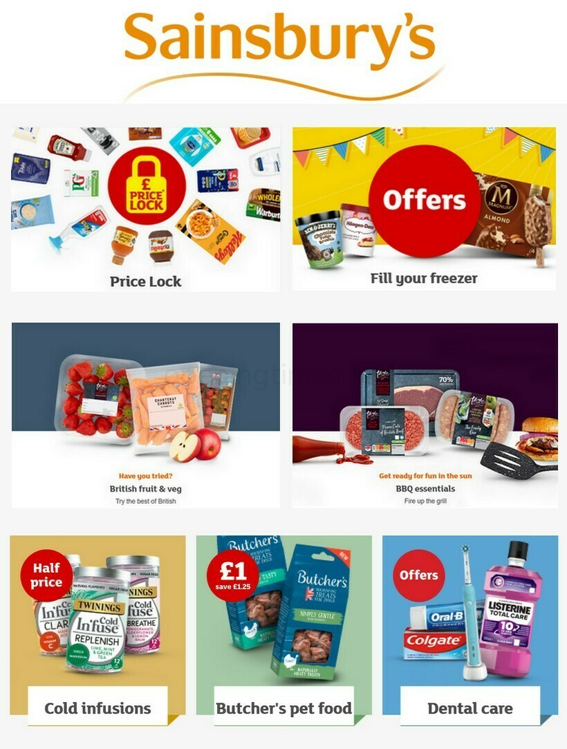 Sainsbury's Offers from April 15