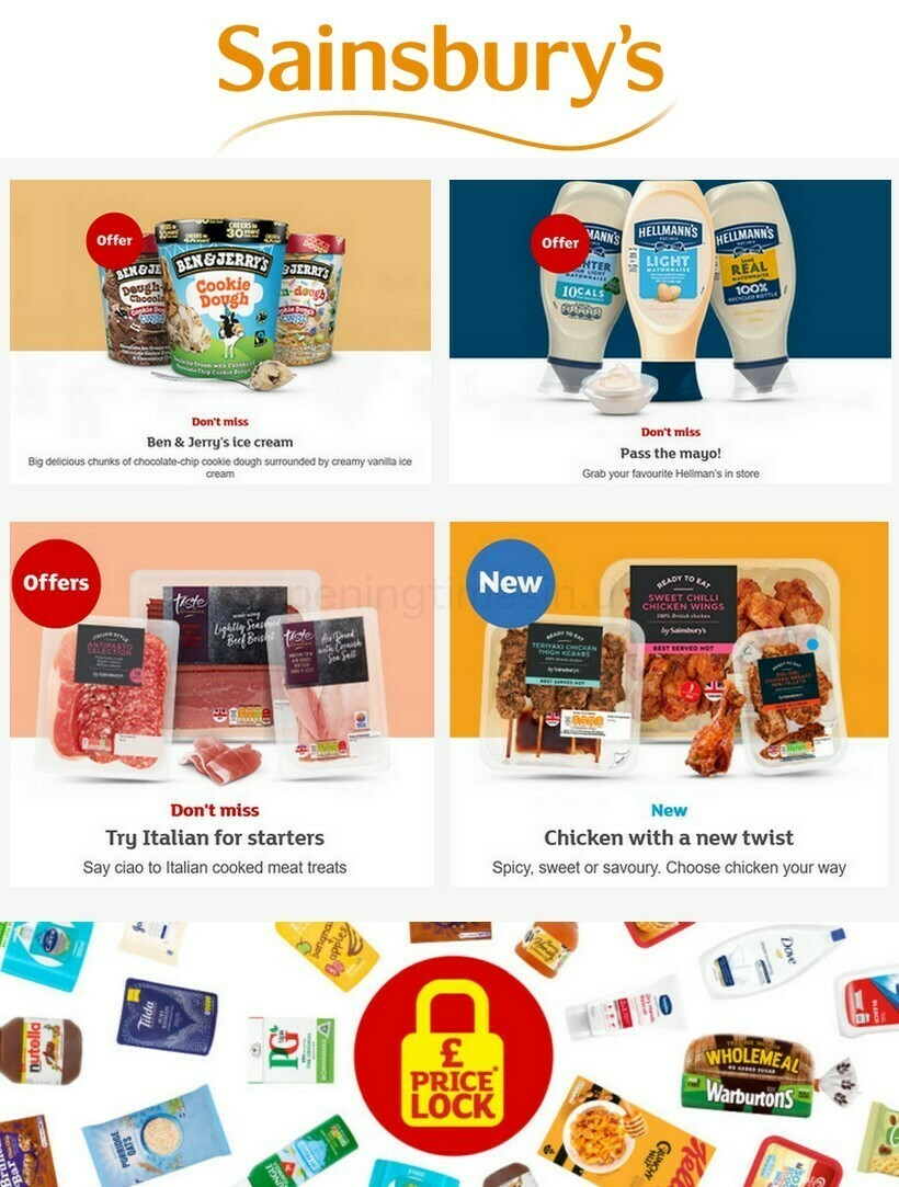 Sainsbury's Offers from July 16