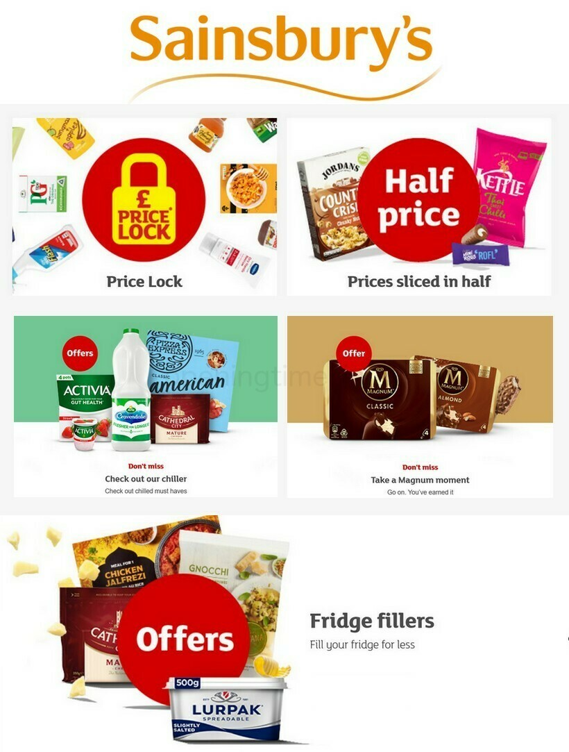 Sainsbury's Offers from July 22