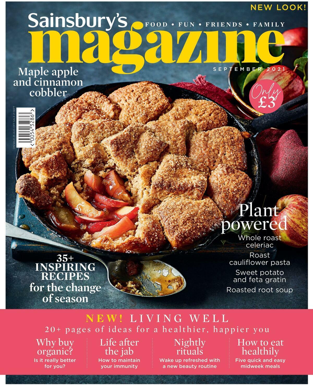Sainsbury's Magazine September Offers from September 1