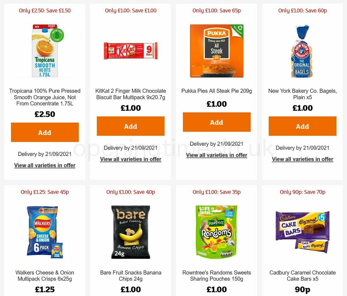 Sainsbury's Offers from September 2