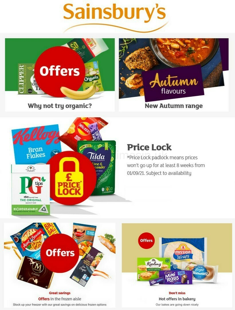 Sainsbury's Offers from September 23