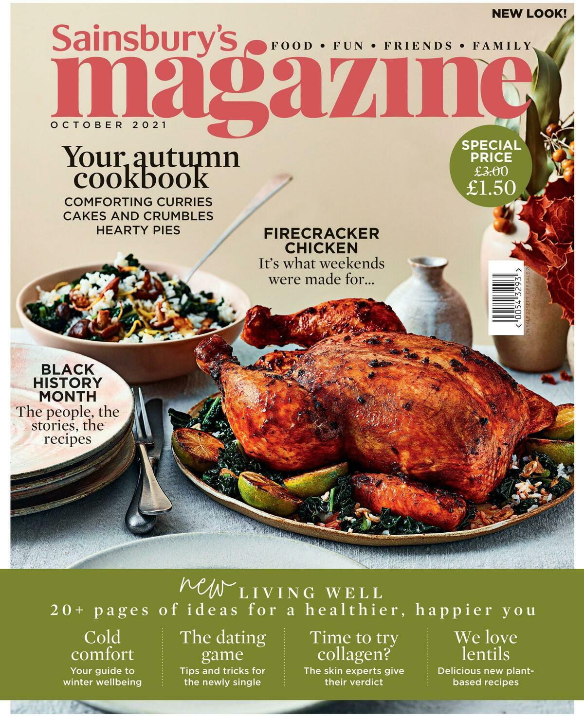 Sainsbury's Magazine October Offers from October 1