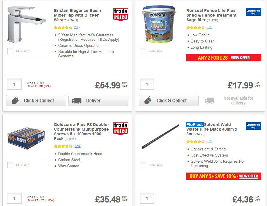 Screwfix Offers from June 25